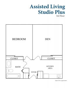 Assisted Living Studio Plus